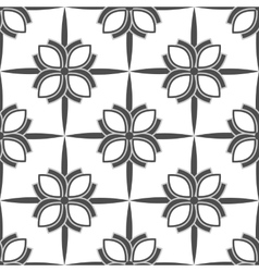 patterns on white background vector image vector image