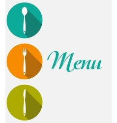 Restaurant Menu Background Template vector image vector image