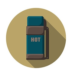 Flat design modern of thermo container icon vector