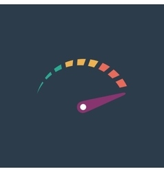 Performance measurement icon vector