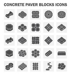 Block icon vector