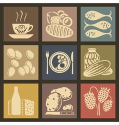 Foodicons vector