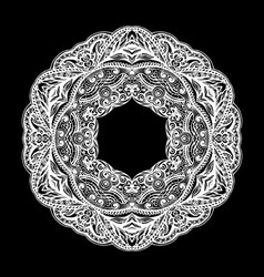 Patterned decorative element vector image vector image