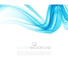 Smooth wave stream line abstract header layout vector image vector image