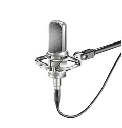 Studio microphone for recording vector