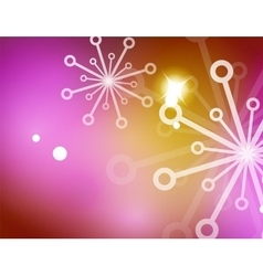 Christmas yellow abstract background with white vector