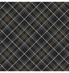 Pride of scotland hunting tartan diagonal seamless vector