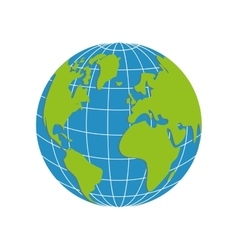 Planet icon earth design graphic vector