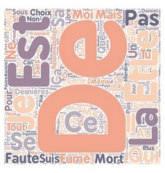 Avis d un etudiant text background wordcloud vector
