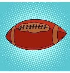 Ball for rugby or american football vector