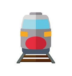 Fast train vehicle vector