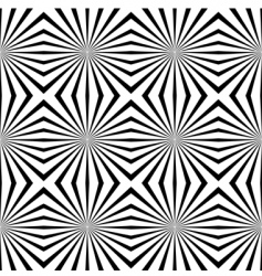 Geometric illusions background vector