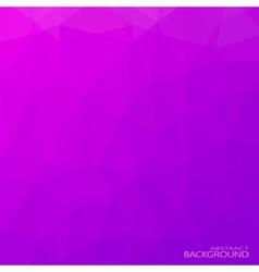 Geometric triangular abstract purple colors vector