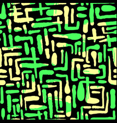 Seamless repeating textile ink brush strokes vector
