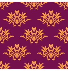 Dainty floral seamless pattern vector