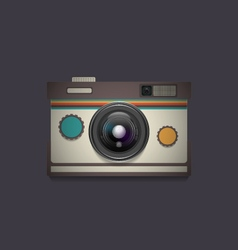 4343d retro camera8vs vector
