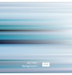 Abstract blue striped and blurred background vector