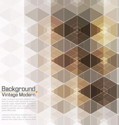 Abstract vintage modern premium hexadecagon vector