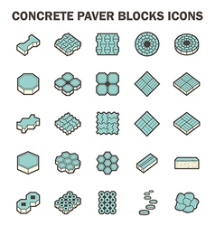 Block icon vector