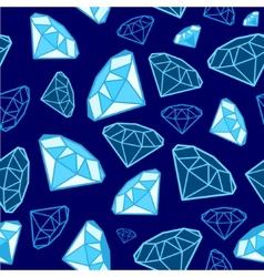 Glamour fashion diamond vector