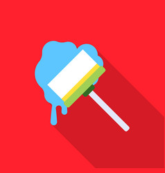 Squeegee flat icon for web and vector