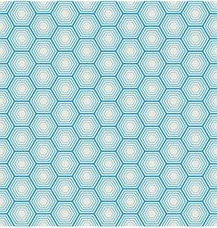 seamless hexagon background vector image