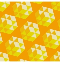 Abstract geometrical 3d background seamless vector