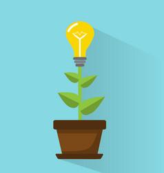 development of ideas vector image