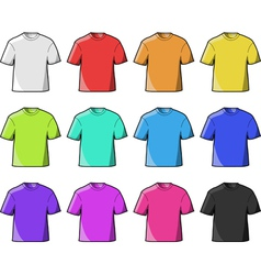 t- shirt vector image vector image