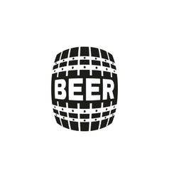 The beer icon cask and keg alcohol symbol ui vector