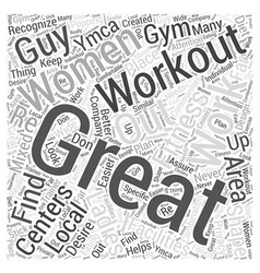 Womens fitness centers word cloud concept vector
