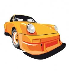 Porsche 911 vector image