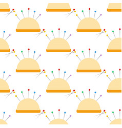 Needle bar pattern vector