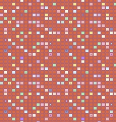 Square geometrical abstract background pattern vector