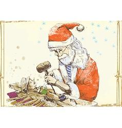 Christmas theme - santa claus vector