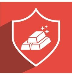 Gold icon design vector