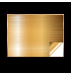 golden gradient background vector image vector image