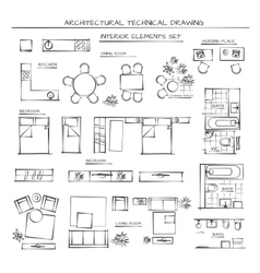 Set of interior elements vector