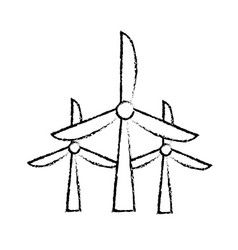 Figure windpower technology to environment vector