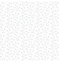 White floral texture with small ditsy flowers vector