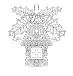 Christmas tree toy vector