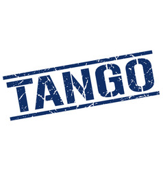 Tango stamp vector