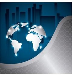 Tech world vector