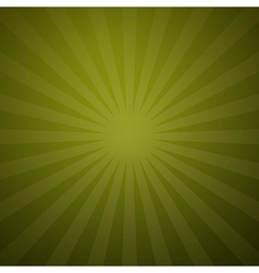 Abstract retro green background vector