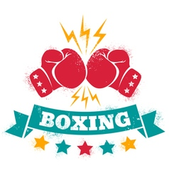 logo for a boxing vector image