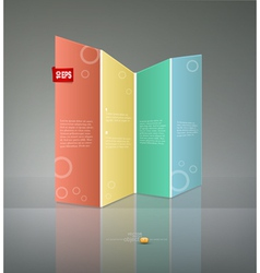 abstract banner for business vector image