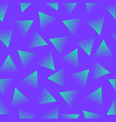 abstract stippled seamless pattern vector image vector image