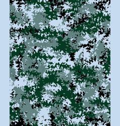 Digital fashionable camouflage vector