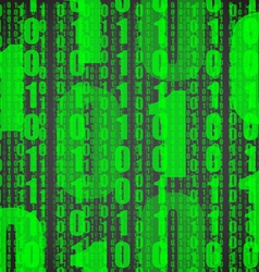 matrix background vector image