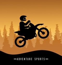Extreme sport design vector